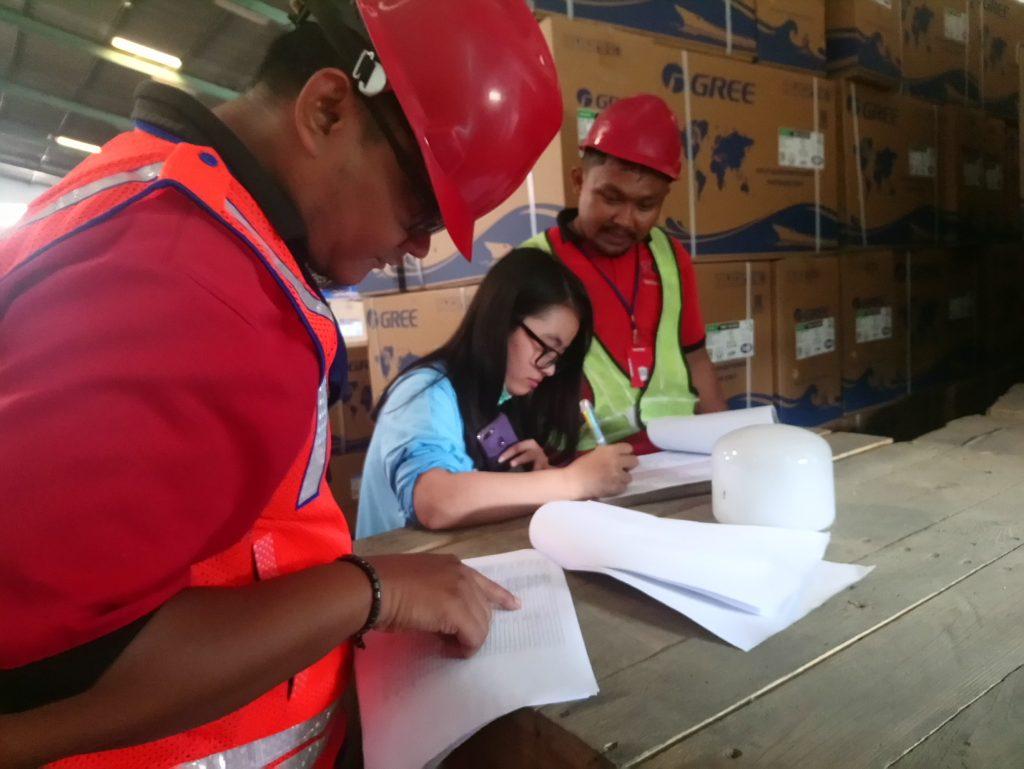 Stock Opname Gree di PT. Tiga Permata Logistik Surabaya