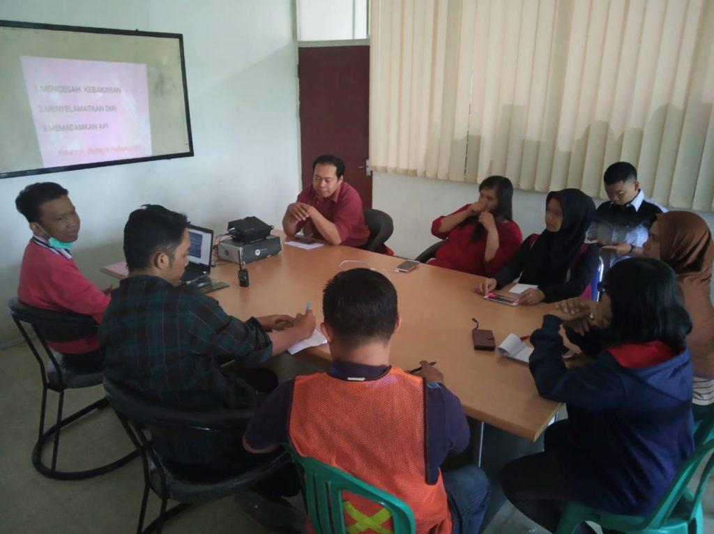 Training Edukasi Kebakaran dan Pencegahan PT Tiga Permata Logistik