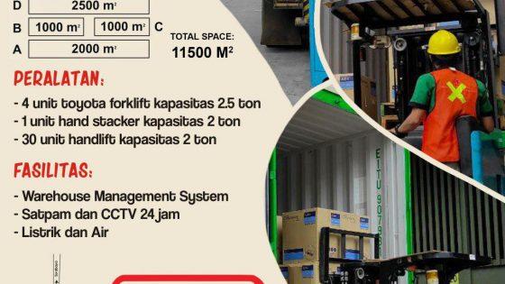 Gudang Surabaya Warehouse Tiga Permata Logistik di Aloha